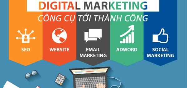 Những công cụ Digital Marketing mang lại hiệu quả nhất định Marketer phải nắm rõ