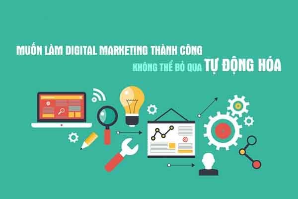 Digital Marketing thành công nhờ tự động hóa Marketing