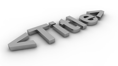 Bí quyết viết tiêu đề thu hút khách hàng