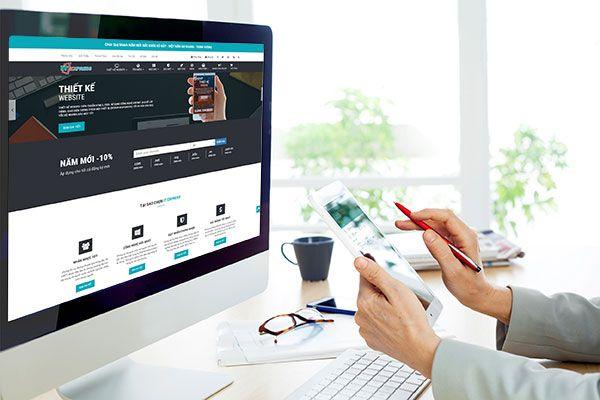 Thiết kế website tạo niềm tin cho khách hàng và đối tác