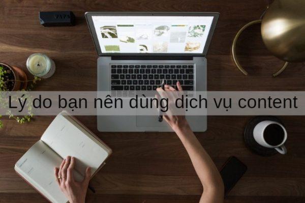 lý do bạn nên dùng dịch vụ content